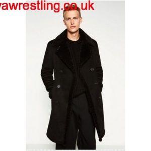 Fleet Street wool black Sz SP